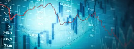 Trading market graph