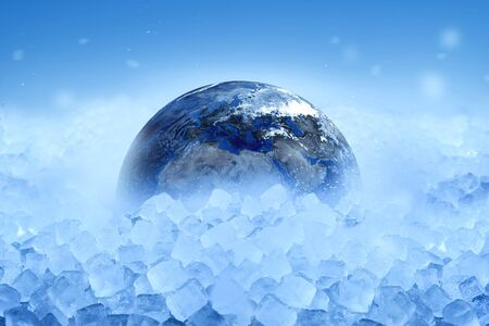 World is sinking in ice and snow