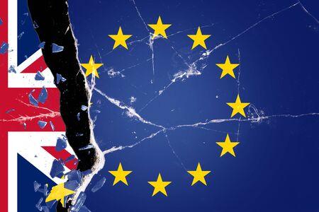 Brexit - Europe - Great Britain 版權商用圖片 - 132241589