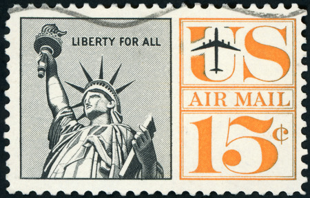 US Postage stamp Editorial
