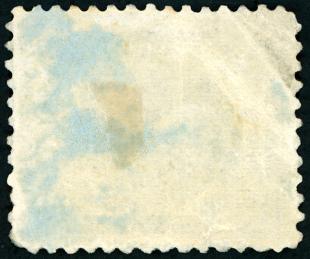 Old blank postage stamp Imagens