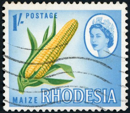 Postage stamp of RHODESIA Редакционное