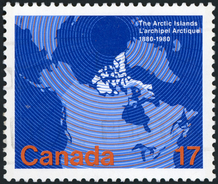 Postage stamp of Canada