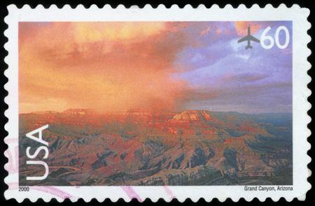 Postage stamp (USA - Grand Canyon)