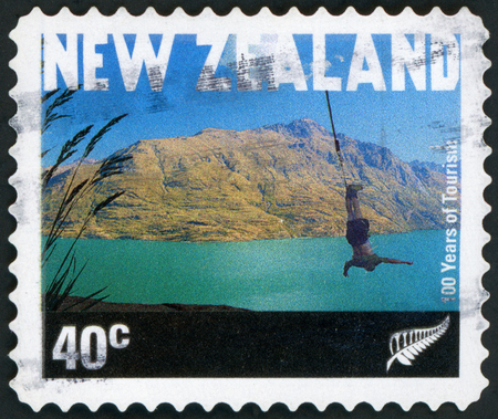 Postage stamp - New Zealand