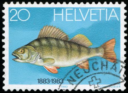 helvetia: Postage stamp - Helvetia