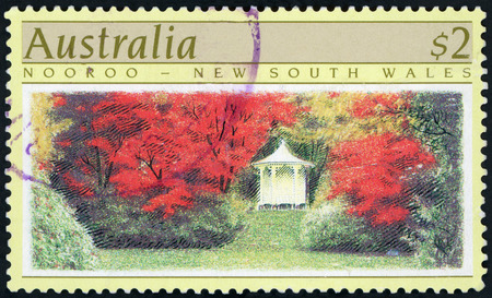 Postage stamp - Nooroo, NSW, Australia