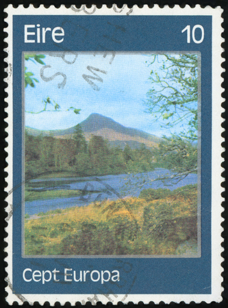 Postage stamp - Ireland