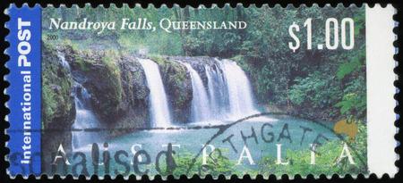 Australian Postage stamp - Nandrodya falls