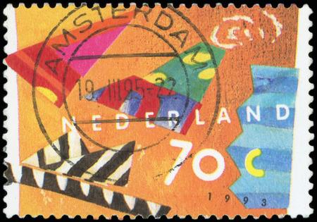 Postage stamp - Nederland