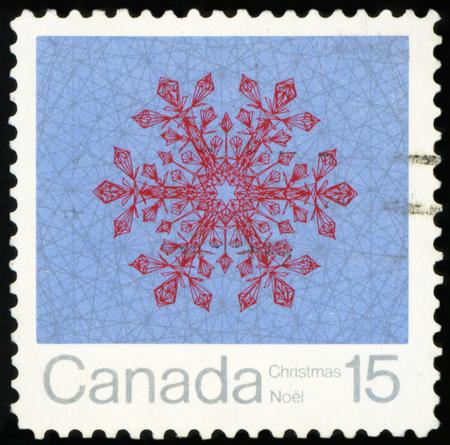 Postage Stamp - Christmas Snowflake (Canada)