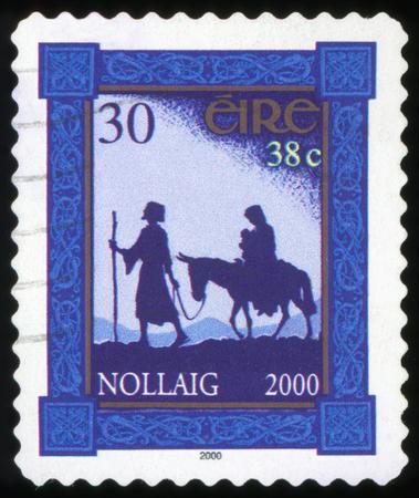Postage Stamp - Nollaig - Ireland