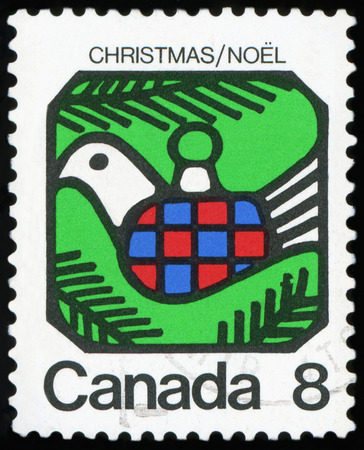 Postage stamp of Canada - ChristmasNoel