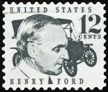 VERENIGDE STATEN VAN AMERIKA - 1968: Henry Ford