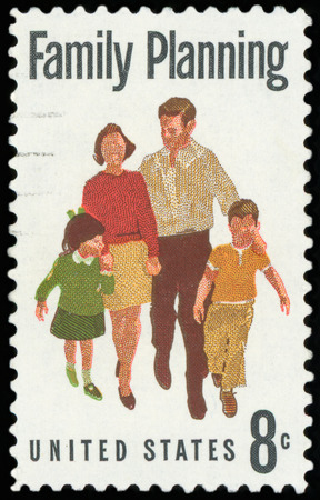 US Postage stamp - Family Planning