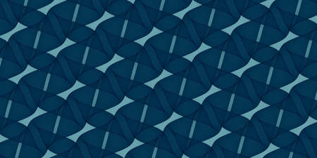 Abstract background - navy blue pattern - 2d illustration