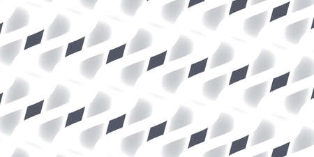 Abstract background - navy blue gray pattern on white background - 2d illustration Stock fotó