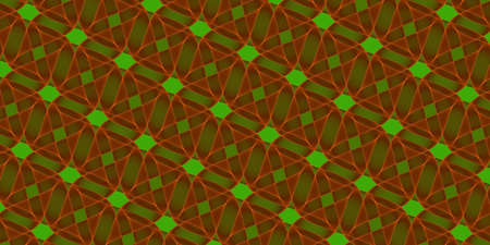 Abstract background - green brown pattern - 2d illustration
