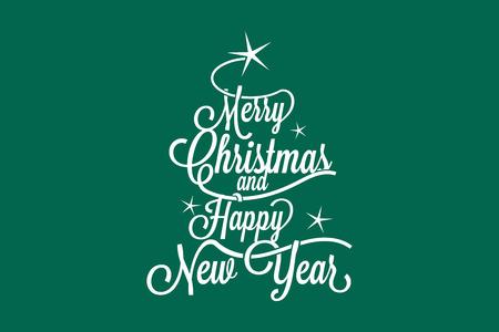 nowy rok: Wesołych Świąt i Szczęśliwego Nowego Roku pocztówki