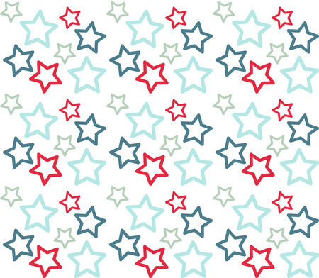 Christmas vector colorful seamless pattern Illustration