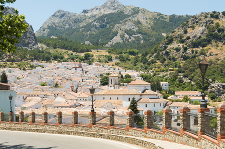 Grazalema Pueblos Blancos - Travel in Andalusia Spain Europe Stock Photo