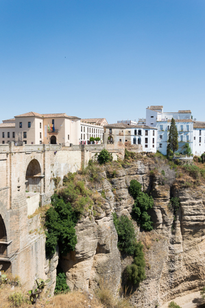 Ronda travel in Andalusia Spain Europe Stock Photo - 125795561