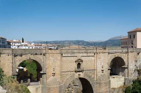 Ronda travel in Andalusia Spain Europe Stock Photo - 125814776