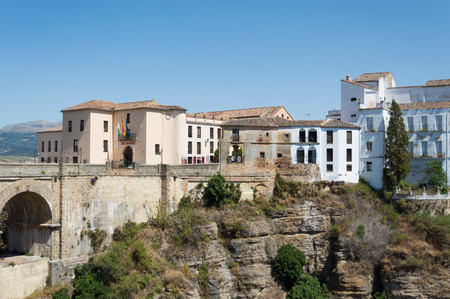 Ronda travel in Andalusia Spain Europe Stock Photo - 125814783