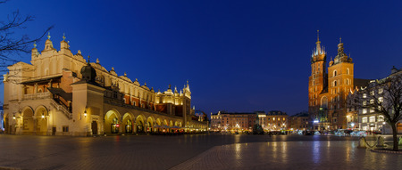 cloth halls: Main Market Square in Krakow