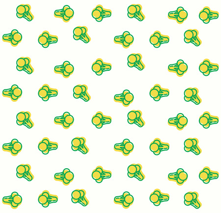 cauliflower background pattern illustration