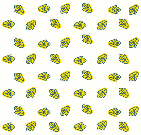 Egypt background pattern illustration Ilustração