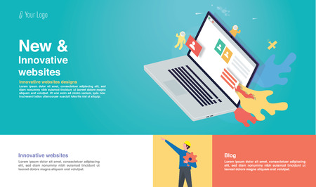 New innovative websites