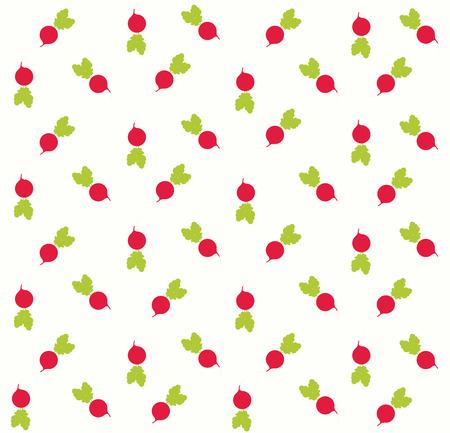 radish background pattern illustration Illusztráció