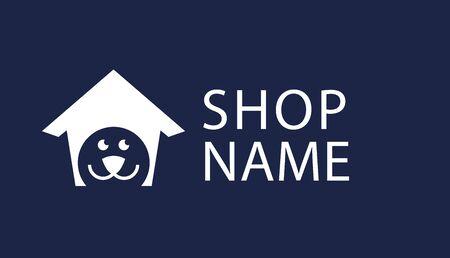 pet shop logo Standard-Bild - 133316212