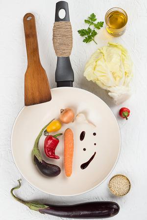 Vegetable Stir Fry Ingredients photo