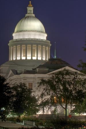 Arkansas state Capitol Pre Dawn photo