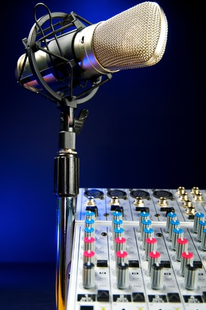 music production: Music Production, Audio Mixer and Vocal Mic