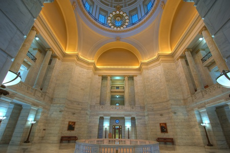 Arkansas State Capital dome interior view  Stock Photo - 13492016