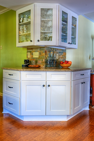 country kitchen: Remodeled Country Kitchen in Little Rock, Arkansas