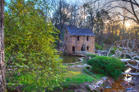 The Old Mill Replica in N. Little Rock, Arkansas