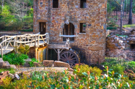 The Old Mill Replica in N. Little Rock, Arkansas Featured in the 1939 movie Gone With the Wind photo