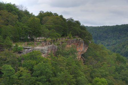 Little River Canyon overlook in Northeast Alabama.