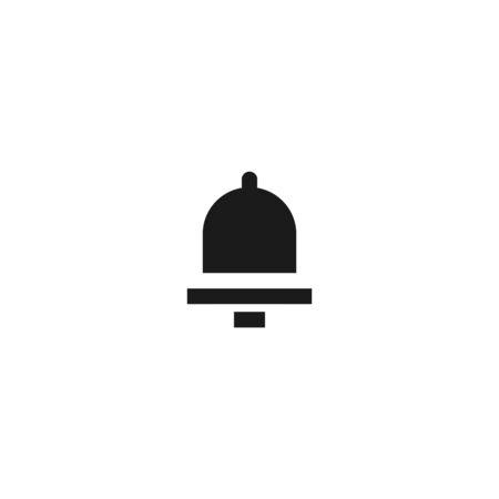 job task reminder icon design bell symbol. simple clean professional business management concept vector illustration design.