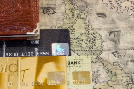 Travel with a credit card photo