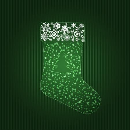 Christmas stocking photo