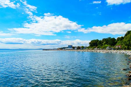 mecklenburg western pomerania: The Beach of Sassnitz at the Baltic Sea