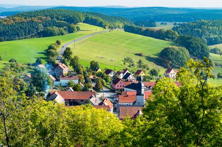 The  small Village near the big City