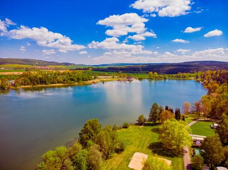 Hohenfelden Reservoir near Erfurt