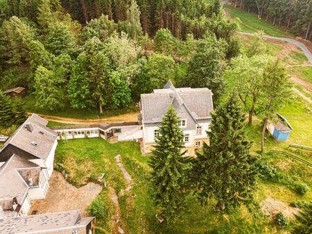 Mansion in Altenberg in Saxony on the ski slope