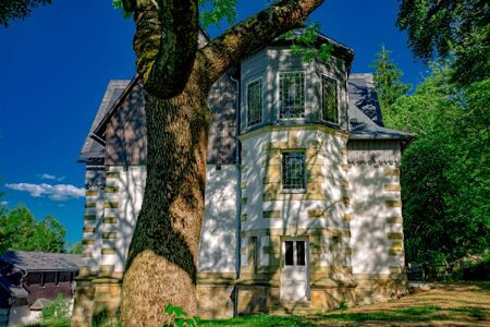 Mansion in the Ore Mountains